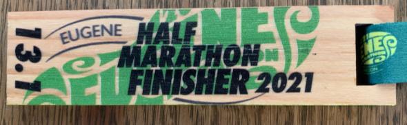 Eugene Virtual Half Marathon
